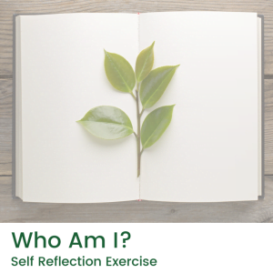 Who Am I Self Reflection Exercise