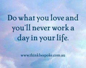 Dream job, career coaching quote