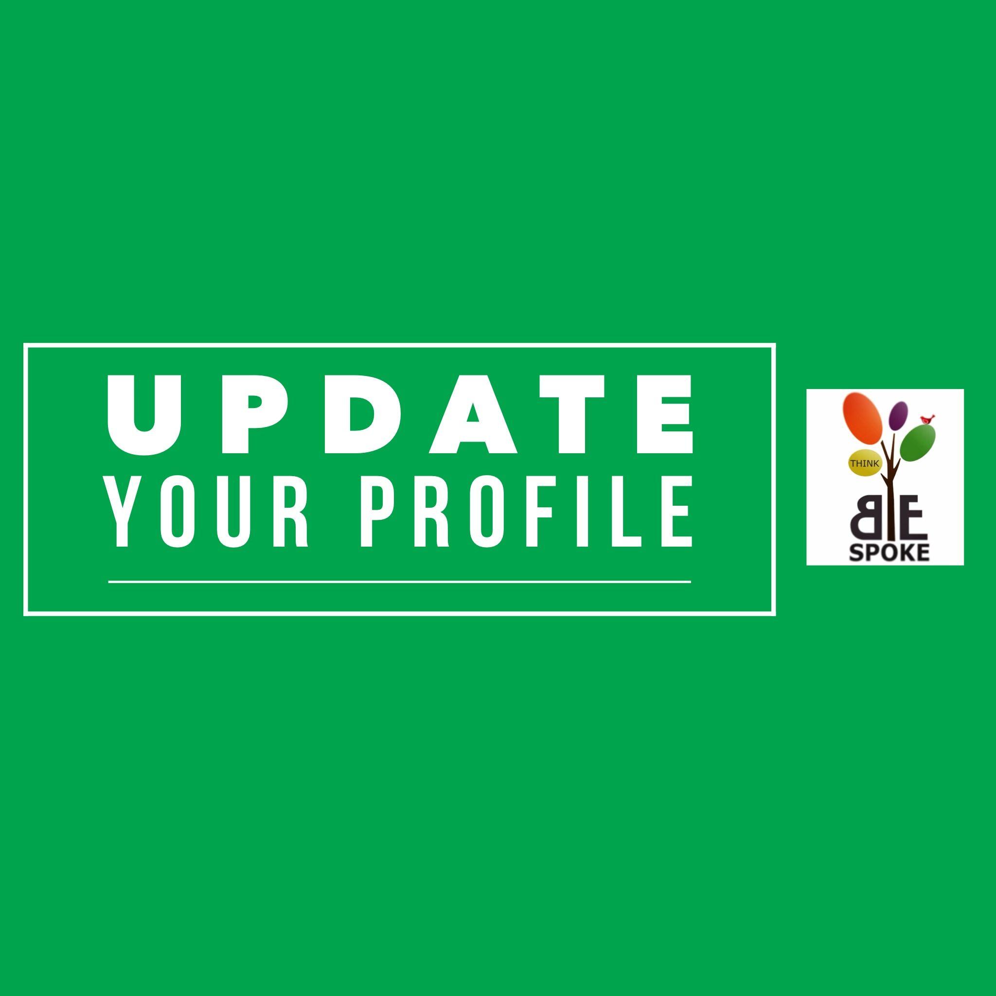 LinkedIn Profile update training