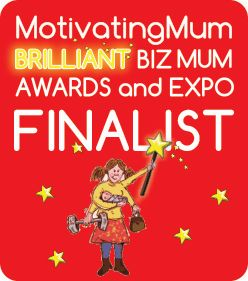 Motivating Mum Biz Mum Awards Finalist Badge