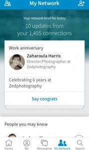 Updates on the LinkedIn Mobile App