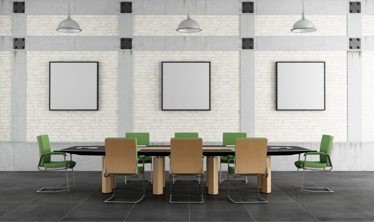 meeting room in a loft