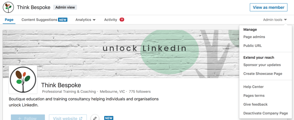 how to add or remove admin to your organisations linkedin company page