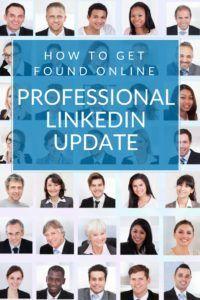Professional LinkedIn Profile Update