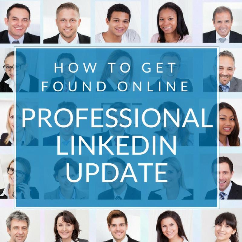 Professional LinkedIn Update