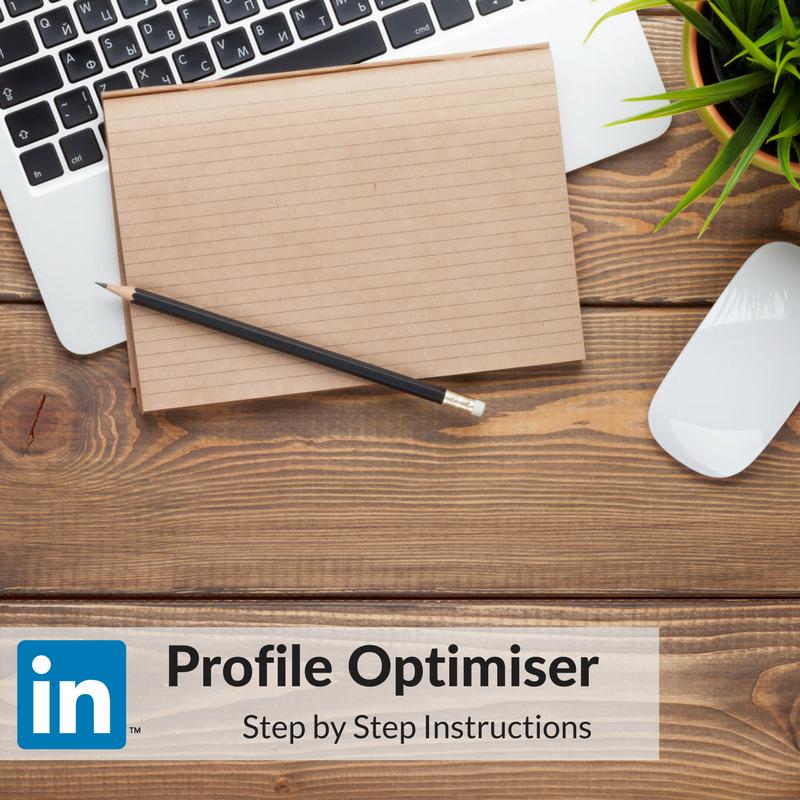 LinkedIn Profile Optimiser SBS Instructions