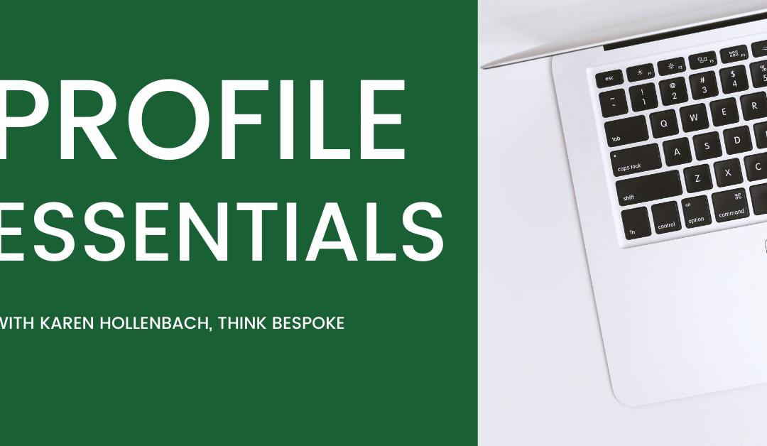 Profile Essentials