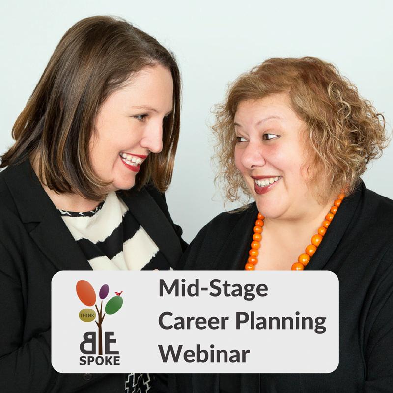 Mid-Stage Career Planning Webinar