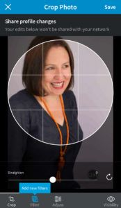 how to add a linkedin profile photo