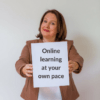 Online learning at your own pace