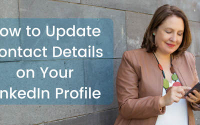 How to Update Contact Details on Your LinkedIn Profile