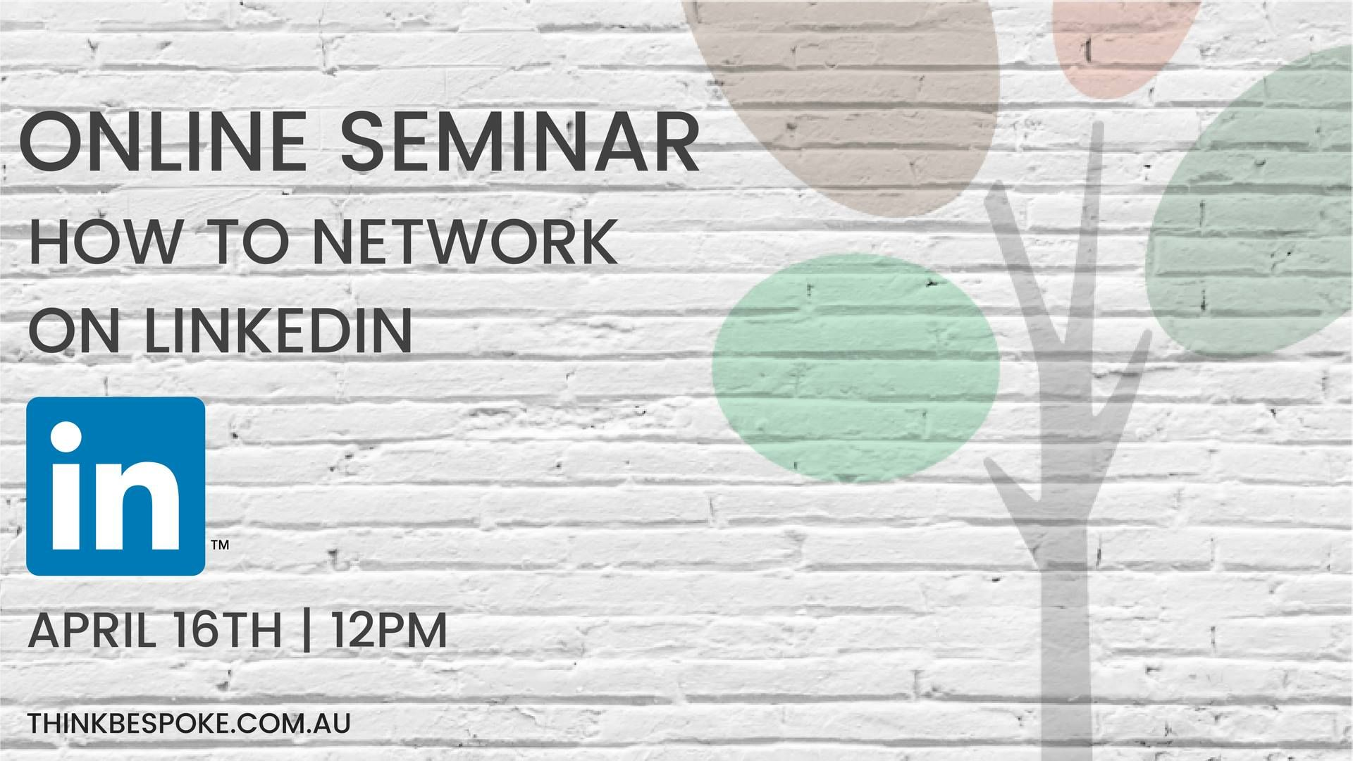 How to Network on LinkedIn FB event banner