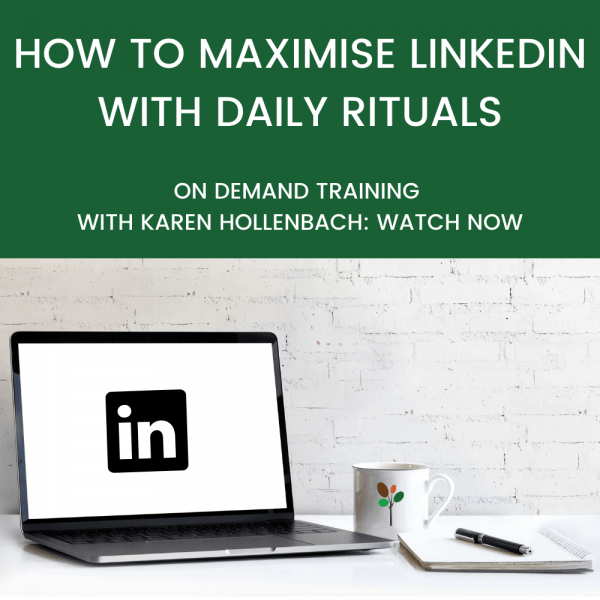 HOW TO MAXIMISE LINKEDIN WITH DAILY RITUALS