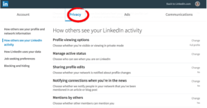 how to audit you and your team's linkedin profiles