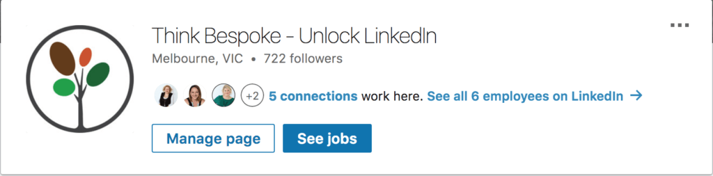 linkedin company page management