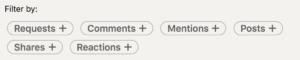 Linkedin company page activity tab