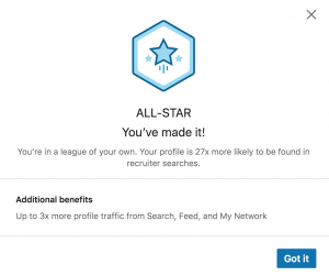 All Star Status