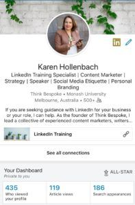 how to assess if you have an all star linkedin profile