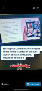 linkedin story feature