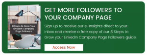 Get more followers to your Company Page
