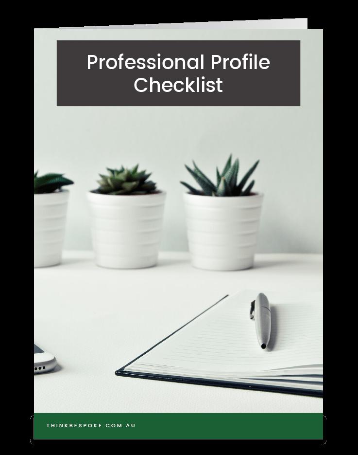 LinkedIn Professional Profile Checklist