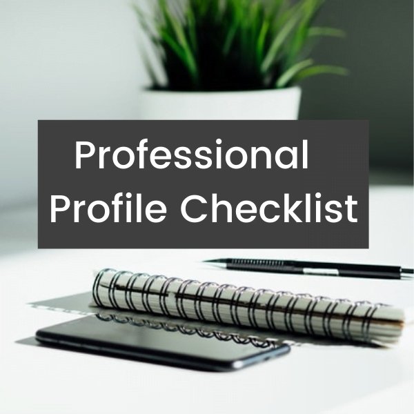Professional LinkedIn Profile Checklist Think Bespoke