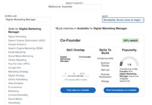 linkedin career explorer tool