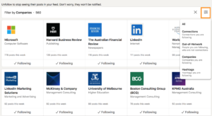 how to clean up your linkedin newsfeed