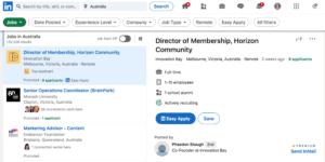 how to set up job alerts on linkedin