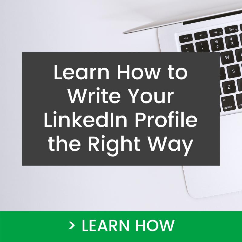 Professional LinkedIn Profile Checklist Think Bespoke